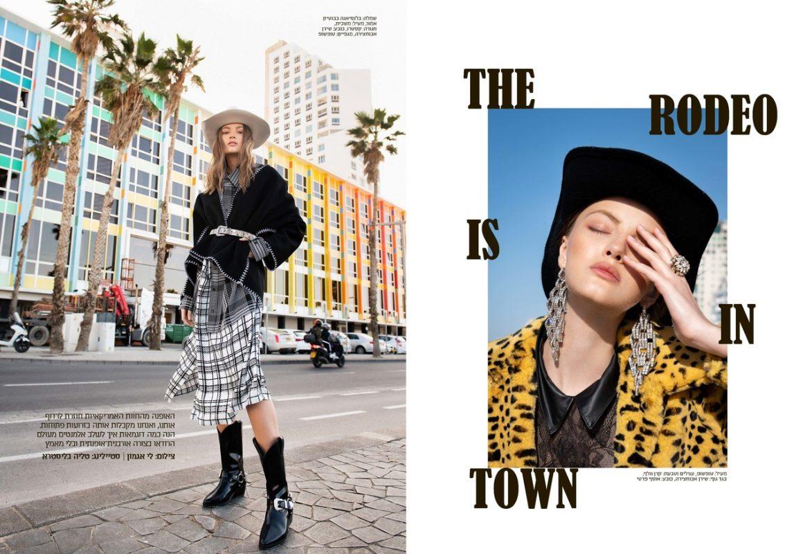 俄罗斯模特参与《GoStyle》杂志拍摄