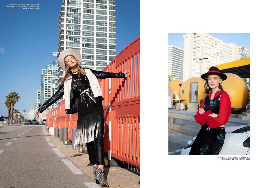 俄罗斯模特参与国际杂志拍摄