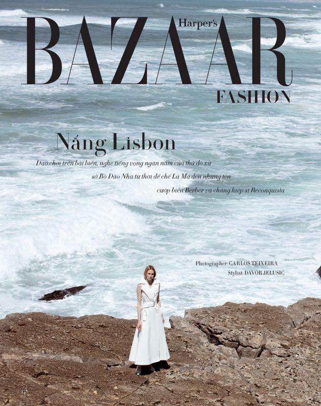 俄罗斯模特在国外拍摄,时尚芭莎