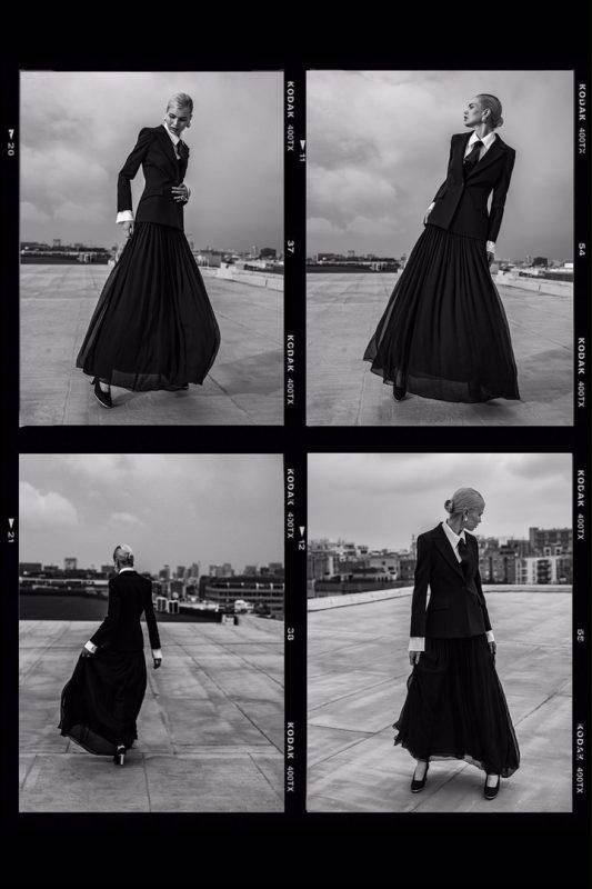 俄罗斯模特为国际杂志拍摄